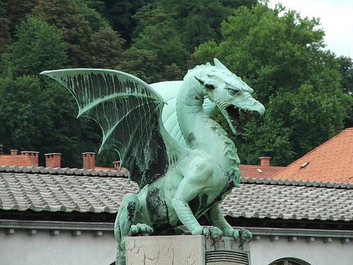 The Historian - Dragon at Emona