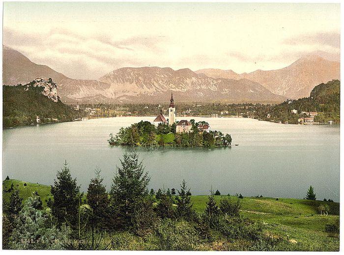 Lake Bled 1890s