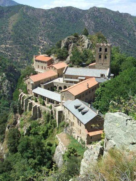 Monastery St Martin du Canigou