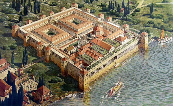 Diocletians palace - Plit